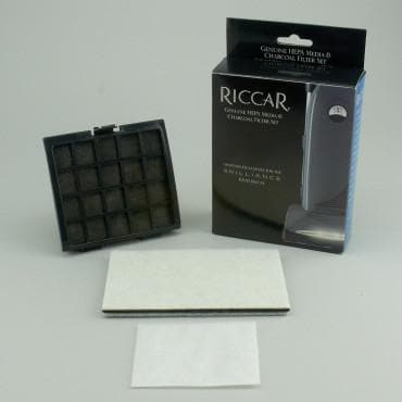 Riccar, Brilliance Genuine HEPA Media & Charcoal Filter Set (RF30D) - Myers Sewing