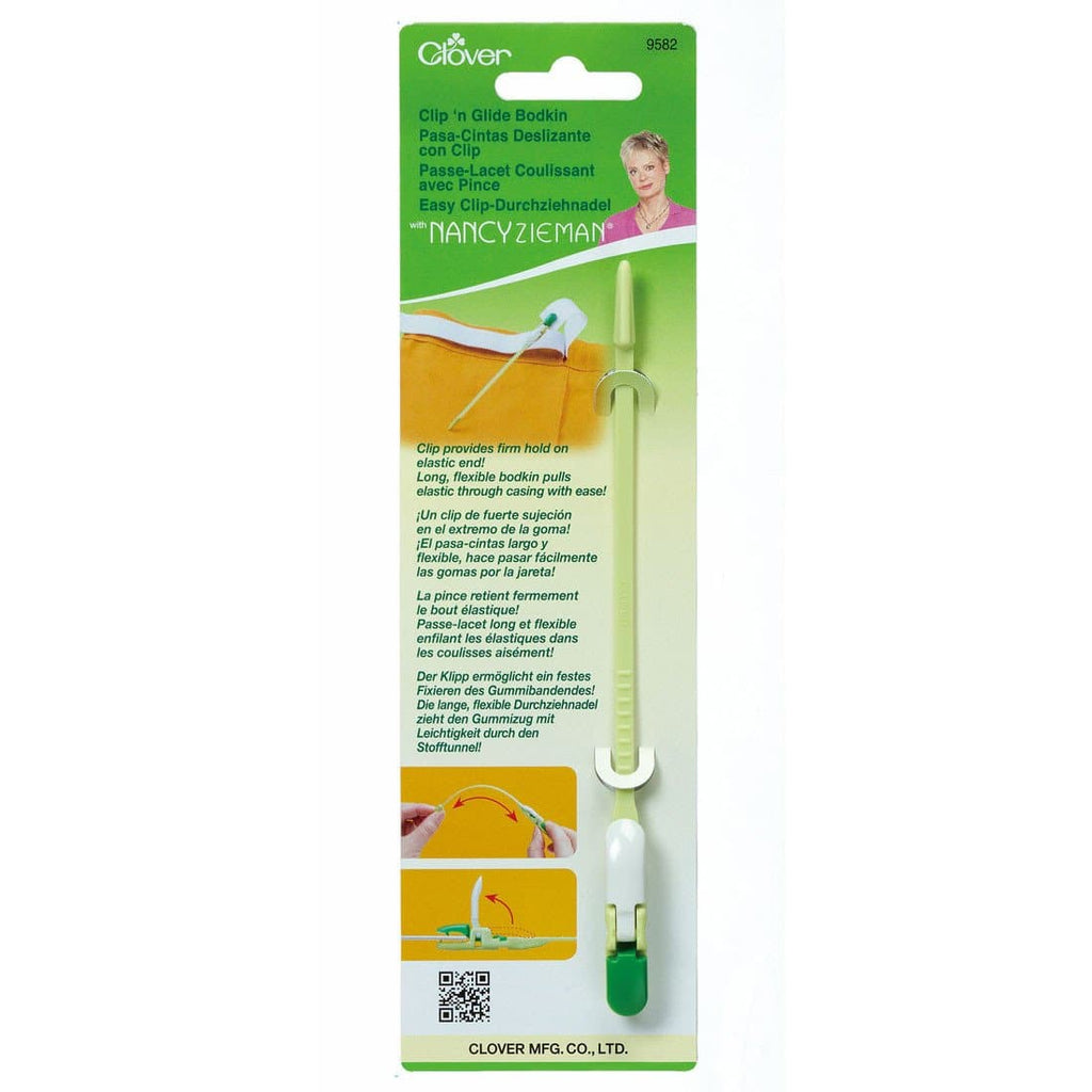 Clover, Clip 'n Glide Bodkin (CL9582) - Myers Sewing