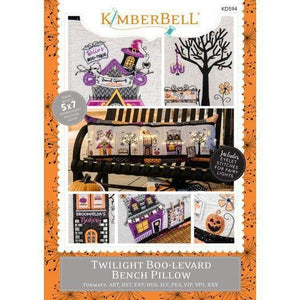 Kimberbell, Twilight Boo-Levard Bench Pillow (KD594) - Myers Sewing