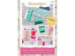 Kimberbell, Take A Peek! Zipper Pouch (KD590) - Myers Sewing