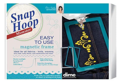 DIME, Snap Hoop Monster (SH00A#M) - Myers Sewing