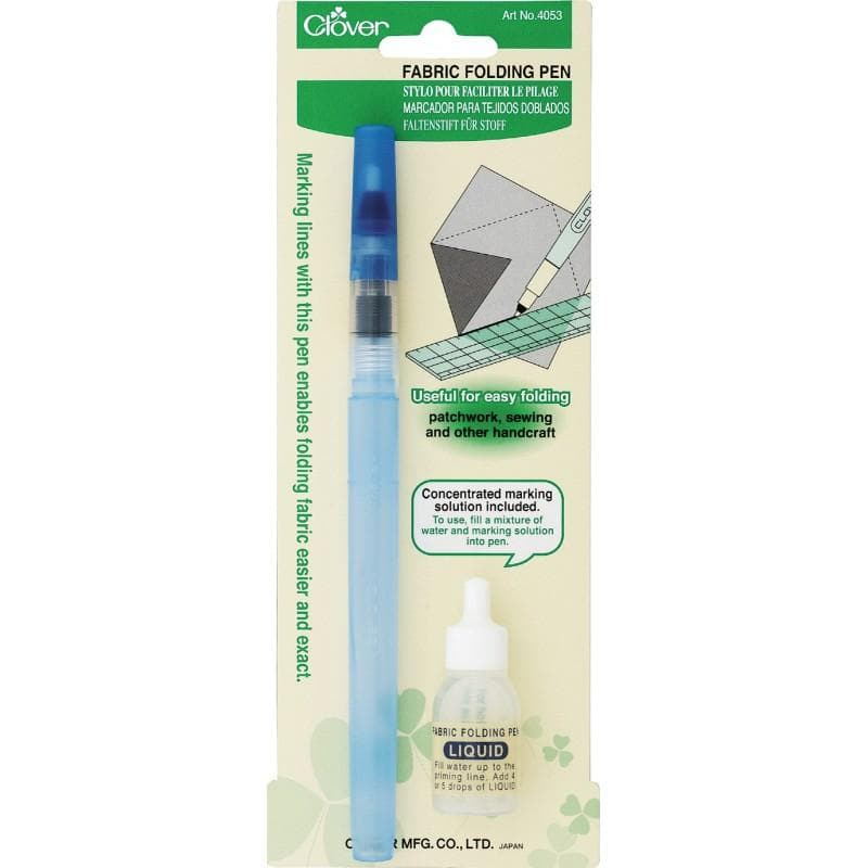 Clover, Fabric Folding Pen (CL4053A) - Myers Sewing