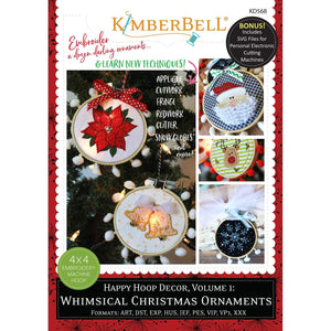 Happy Hoop Decor Vol 1: Whimsical Christmas Ornaments