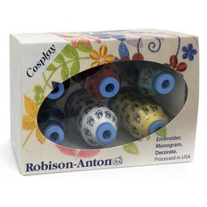 Robison-Anton Polyester Mini King 6 Spool Gift Pack (KT###) - Myers Sewing