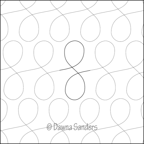 Dawna's Designs, Pantograph: Mini Sashay (11PANMS001) - Myers Sewing