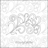 Dawna's Designs, Pantograph: Wild Vines (15PANWV001) - Myers Sewing
