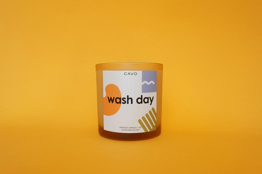 """Wash Day"" Candle l Cavo Candles"