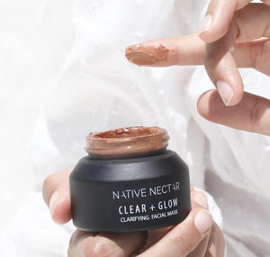 Clear + Glow Face Mask l Native Nectar Botanicals