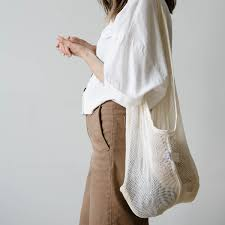 The Mesh Bag (Slate) l June