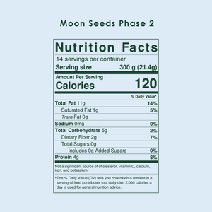 Organic Moon Seeds l Food Period