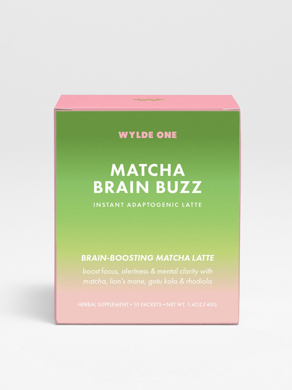 Matcha Brain Buzz l WYLDE ONE