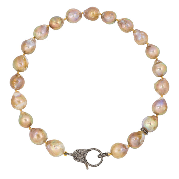 K Semi Baroque Pearls