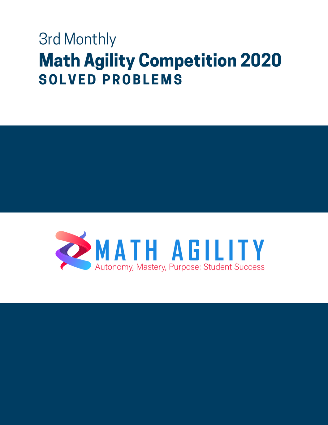 3rd Math Agility Competition 2020 Solved Problems