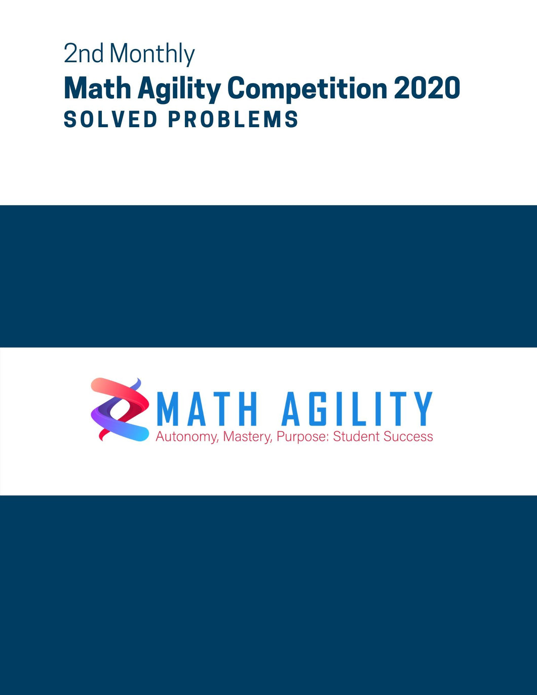 2nd Math Agility Competition 2020 Solved Problems