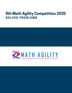 8th Math Agility Competition 2020 Solved Problems