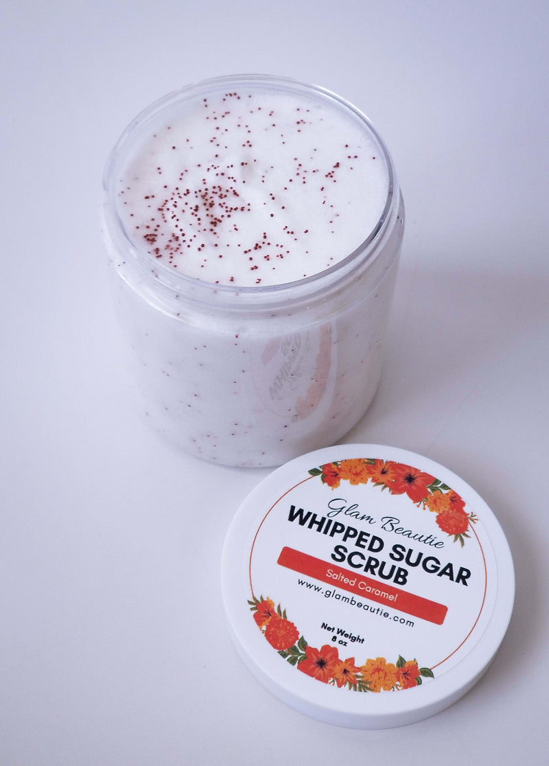 Salted Caramel Whipped Sugar Scrub