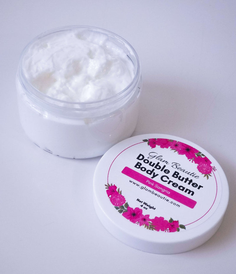 Double Butter Body Cream  - Pink Sangria