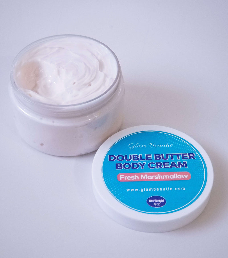 Double Butter Body Cream  - Fresh Marshmallow