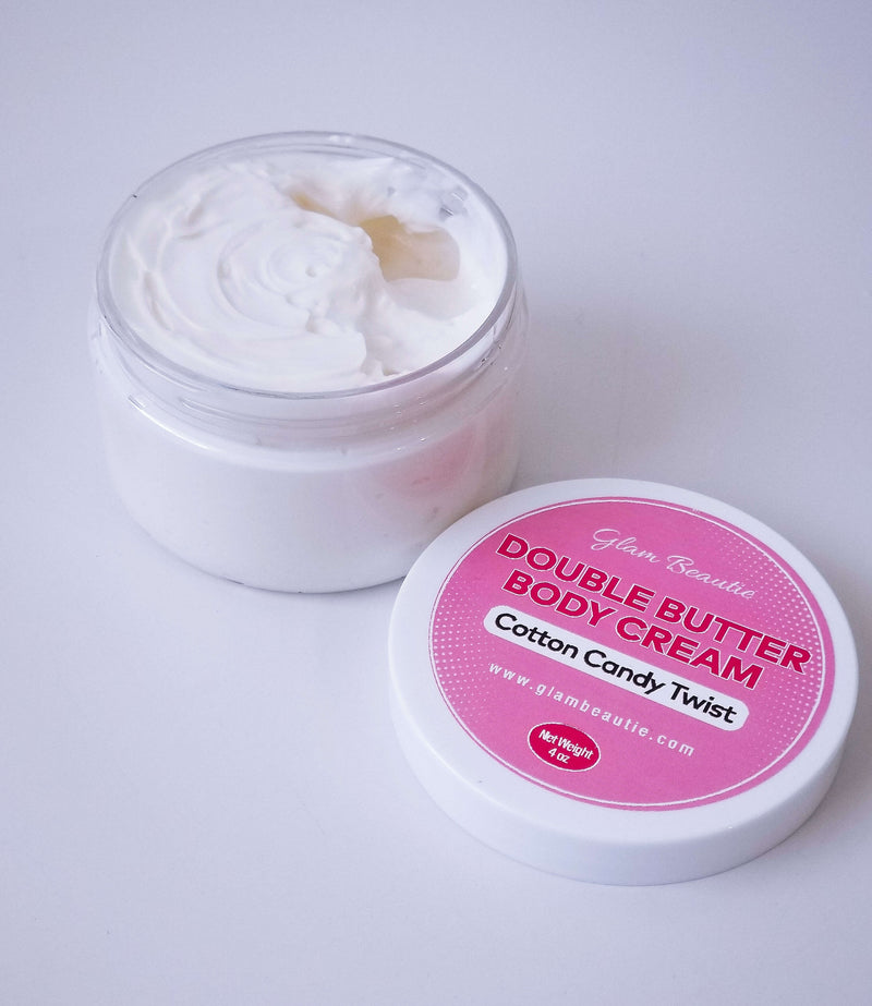 Double Butter Body Cream - Cotton Candy Twist