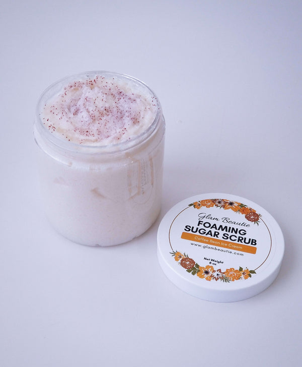 Foaming Sugar Scrub - Coffee Bean Ice Cream