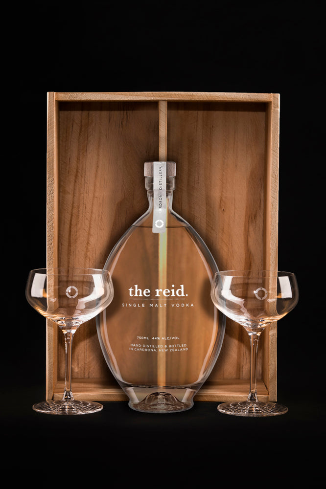 the reid & martini glass set