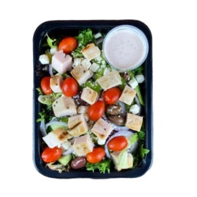 Classic Greek Salad with Grilled Chicken (10)
