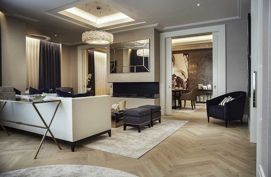 HW3001 Fendi Prime 120mm Engineered Oak Herringbone