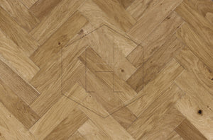 HW601 Block 70mm Engineered Oak Block Wood Flooring