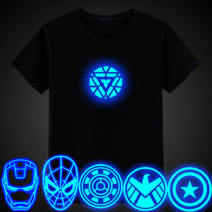 Iron Man LED Reactor camiseta ligera