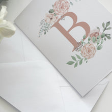 Load image into Gallery viewer, Pretty Monogram - Greeting Card