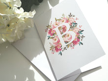 Load image into Gallery viewer, Summer Monogram - Greeting Card