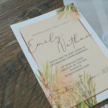 Load image into Gallery viewer, Pampas Grass Invitation Collection