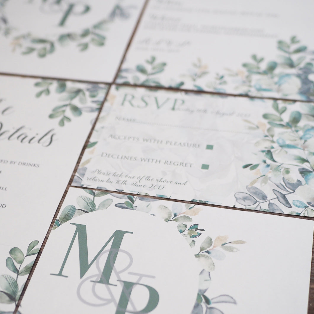 Botanical Invitation Collection