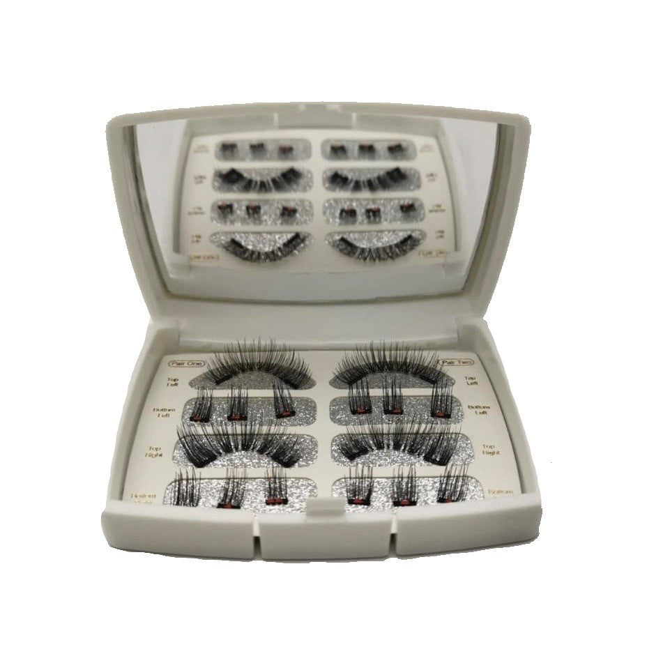 The Full Magnetic Lash One Case/Two Pairs (Natural & Dramatic) - Kimberley's Store