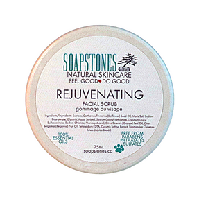 Rejuvenating Facial Scrub Compostable