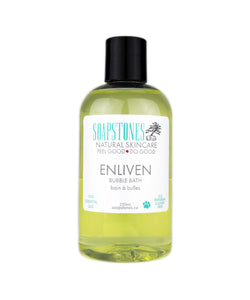 Enliven Bubble Bath - Soapstones Natural Skincare