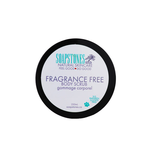 Fragrance Free Body Scrub