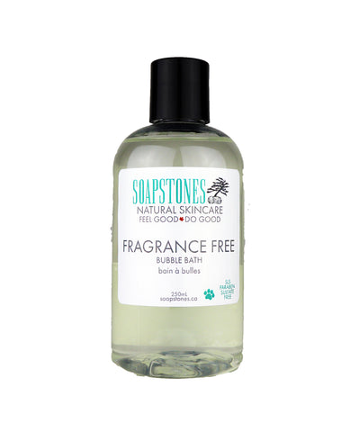 Fragrance Free Bubble Bath - Soapstones Natural Skincare