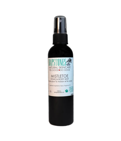 Mistletoe Home & Body Mist - Soapstones Natural Skincare