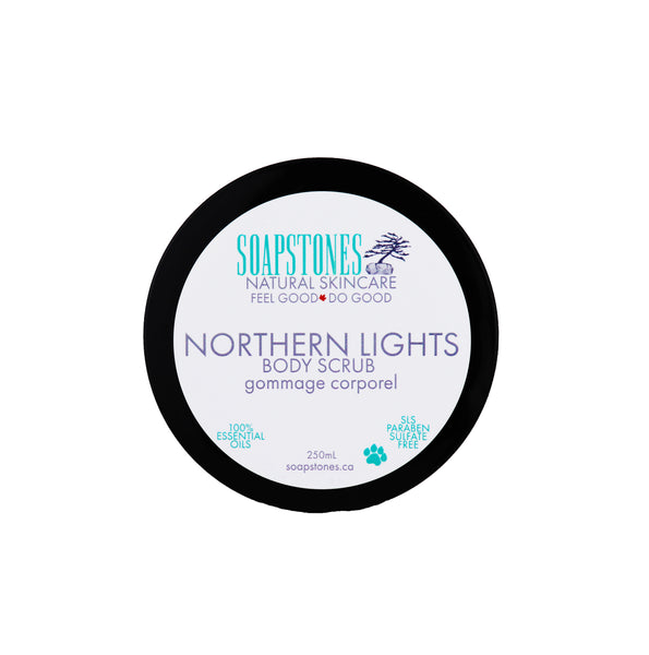 Northern Lights Body Scrub - Soapstones Natural Skincare