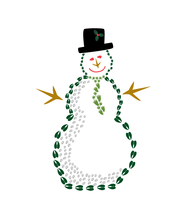 Load image into Gallery viewer, 8 Snowman Holiday Card Cello Pack - Animal Track Designs