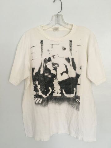 Tupac T shirt w/ 'defect' tupac print