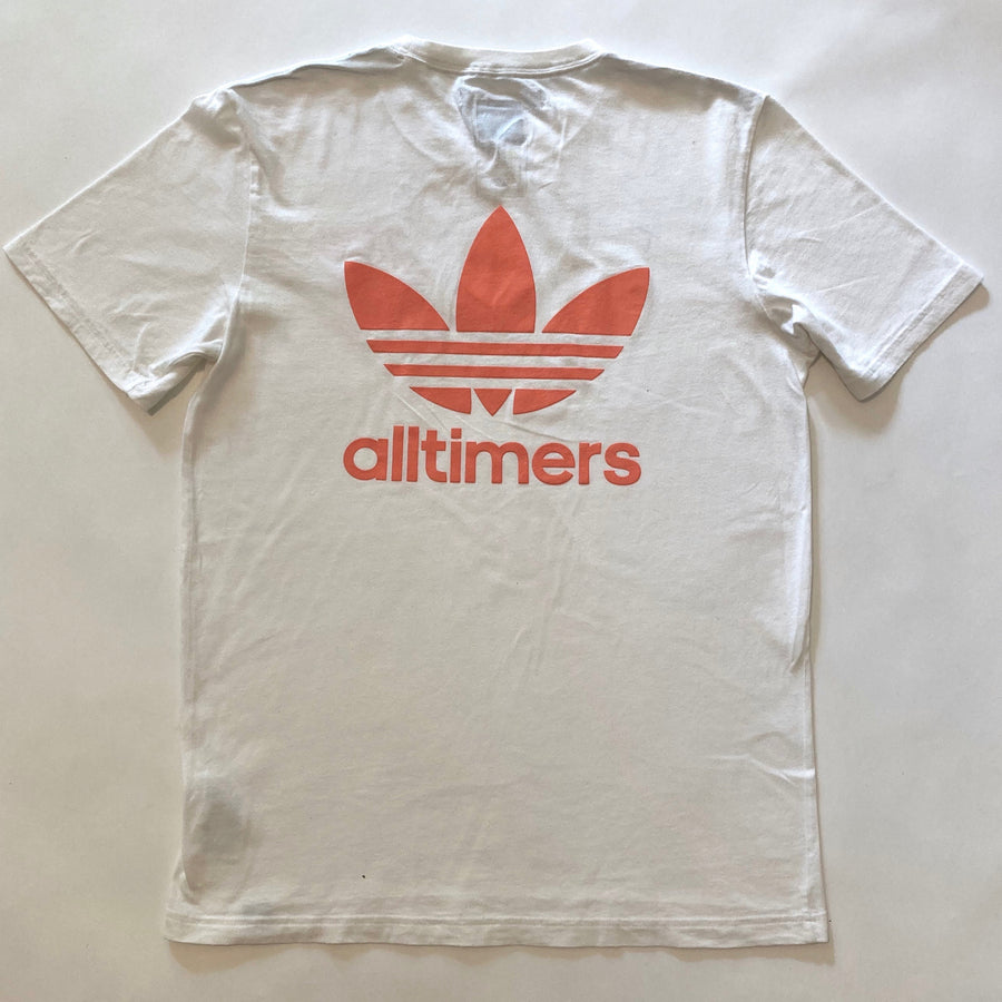 'ADIDAS PLAYER' HEART CUT-OUT TEE