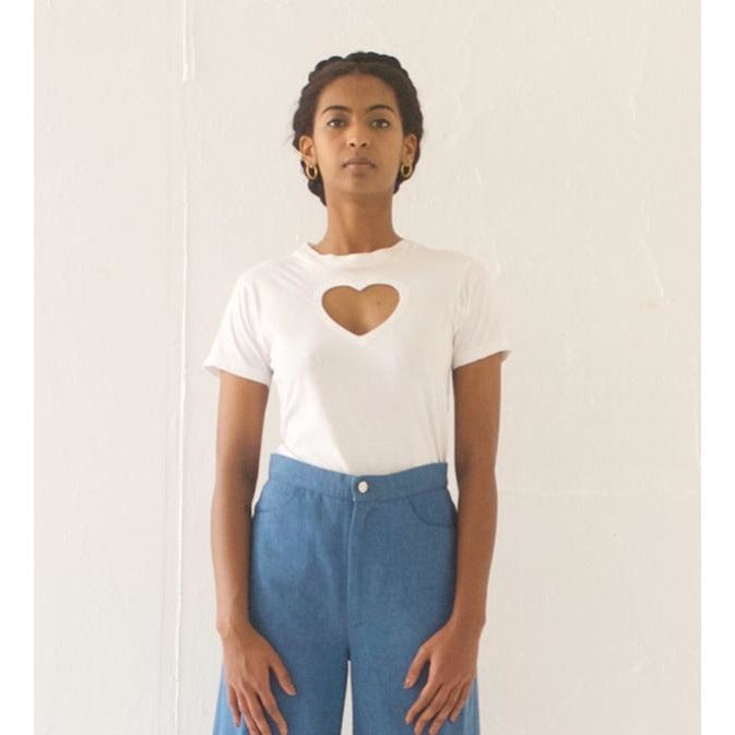 THE ORIGINAL Heart Cut-Out Tee