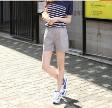 Load image into Gallery viewer, Woman candy color casual shorts women 2020 summer ladies shorts short femme white pink yellow blue+ tracking number