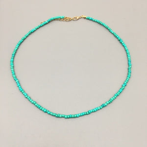 Fashion Women Beads choker Necklace Colorful String Beaded Necklace women Jewelry Torques Necklace birthday gift party jewelry