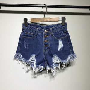 denim shorts women shorts jeans female pockets jean shorts with fringes black ladies sexy women summer denim ripped shorts hot