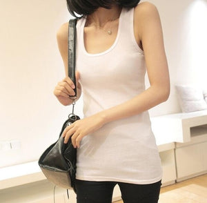NEW 1 PC Casual Wild Women's Sleeveless Tank Tops No Sleeve T-Shirt Summer round neck Vest