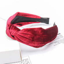 Load image into Gallery viewer, Xugar Hair Accessories Satin Headband for Women Solid Color Plastic Hair Hoop Girls Sponge Non-slip Padded Hairbands Hair Band