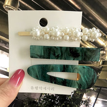 Load image into Gallery viewer, Ins Fashion 1Set Women Girls Elegant Pearls Hair Clips Sweet Headwear Hair Ornament Hairpins Barrettes Hairgrip Hair Accessories